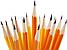 Олівець з гумкою чорнографітних Format HB корпус помаранчевий, фото 2