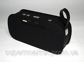 Блютуз колонка Music M-168 в стиле JBL, черная, фото 3