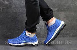 Кроссовки Nike Air Max 97  ярко синие с белым, фото 2