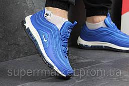 Кроссовки Nike Air Max 97  ярко синие с белым, фото 3