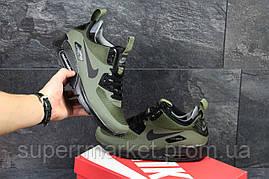 Кроссовки Nike Air Max 90 Ultra Mid (темно зеленые), фото 3