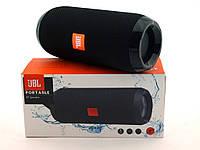 JBL Flip 3 TG117 10W копия, блютуз колонка MP3 FM, черная