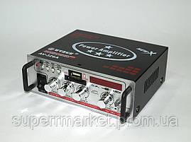 WVNGR AV-326A 50W усилитель звука  705 ресивер   MP3 FM 12v 220v, фото 2