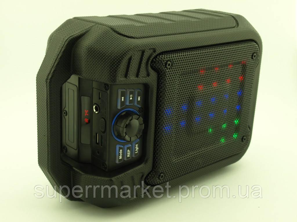 Колонка - чемодан boombox B15 9W с караоке FM MP3