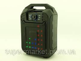 Колонка - чемодан boombox B15 9W с караоке FM MP3, фото 2