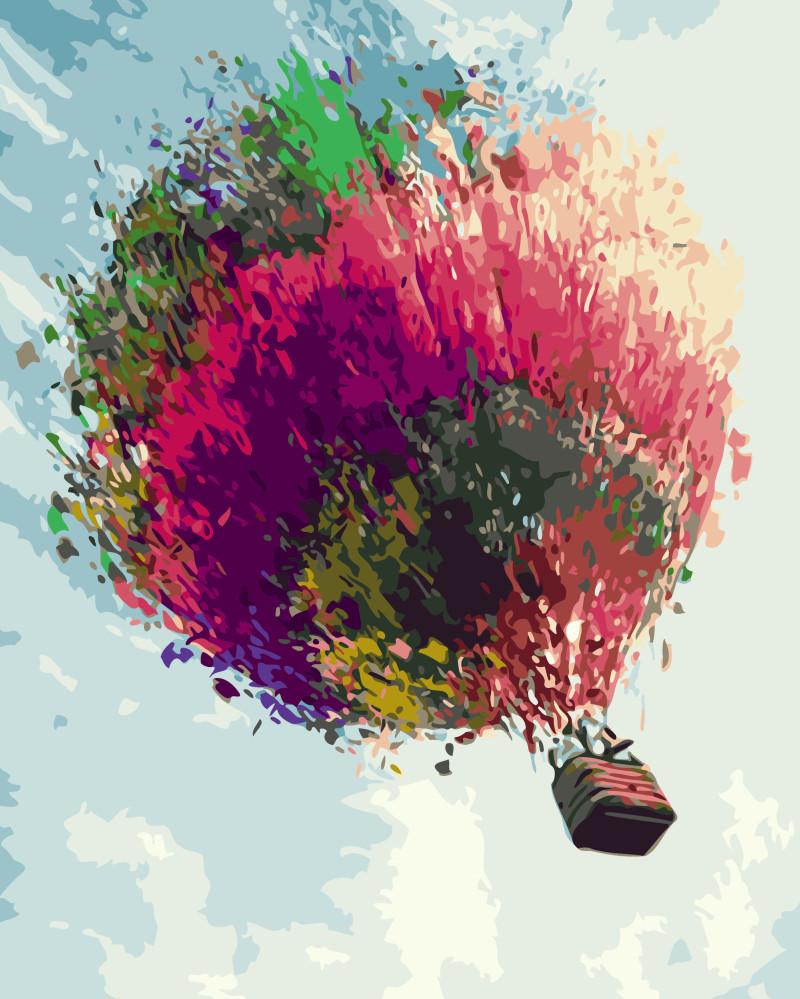 Картина по номерам Воздушный шар, 40x50 см., Brushme