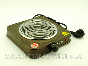 Электрическая плитка Atlanfa AT-1751A  электроплитка 100b спиральный тэн