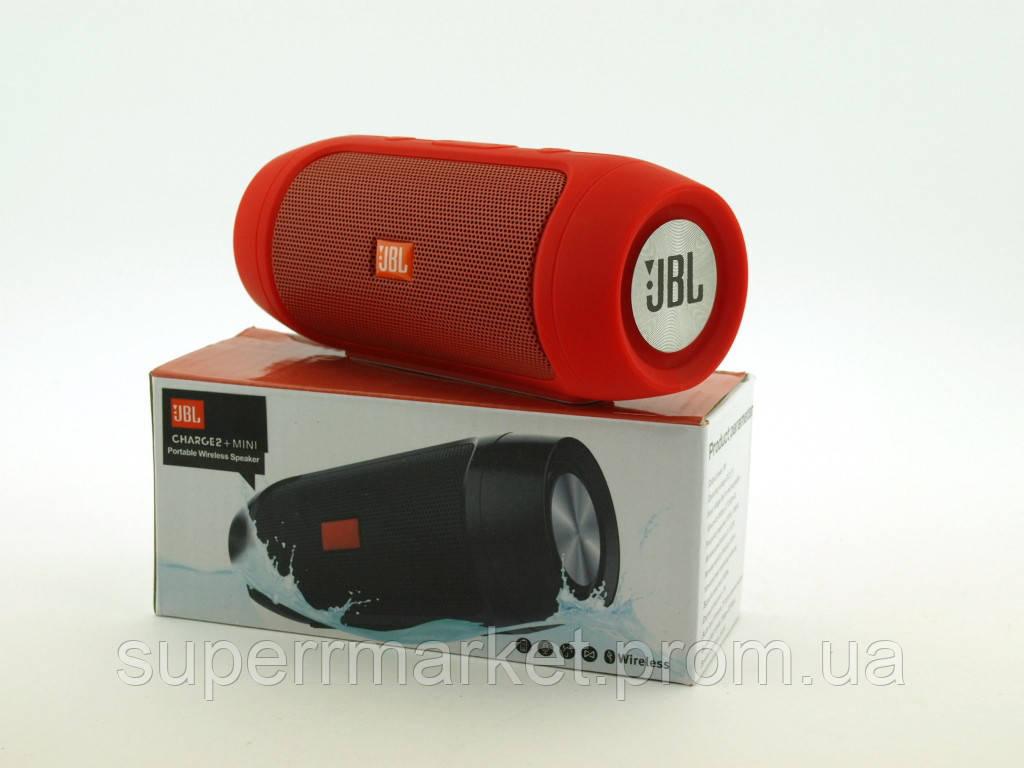 JBL Charge 2+ mini w2 3W копия, блютуз колонка,  красная