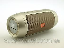 JBL Charge2+ mini w2 3W копия, блютуз колонка, золотая, фото 3