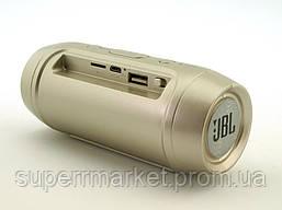 JBL Charge2+ mini w2 3W копия, блютуз колонка, золотая, фото 2