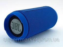 JBL Charge K3+ 15W копия, портативная колонка с Bluetooth FM MP3, синяя, фото 3
