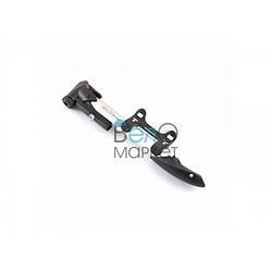 Насос ручной GIYO GP-91 для велосипедов с авто и преста штуцерами с манометром