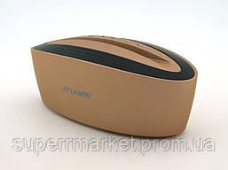 Акустика Atlanfa AT-7755 5W с подставкой, золотая, фото 2