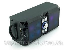 NNS NS-1503bt 10W, колонка-чемодан с караоке и микрофоном, черная, фото 3
