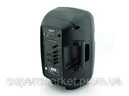 Kipo KB-Q5 20W, Bluetooth активная колонка-чемодан с караоке FM MP3, фото 2