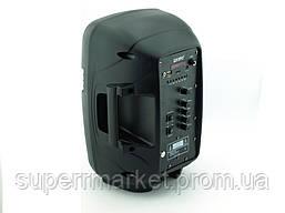 Kipo KB-Q5 20W, Bluetooth активная колонка-чемодан с караоке FM MP3, фото 3