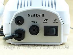 Фрезер для маникюра и педикюра NAIL Master POLISHER DM-202, 25000 об мин, белый, фото 2