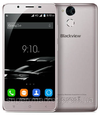 Смартфон Blackview P2 Lite 3 32GB 6000mAh Gray, фото 2