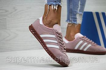 Кроссовки в стиле Adidas, розовые, 38, 40, 41, код6029, фото 2