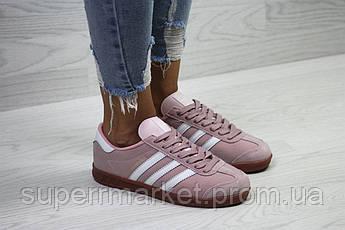 Кроссовки в стиле Adidas, розовые, 38, 40, 41, код6029, фото 3