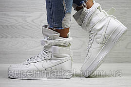 Кроссовки в стиле Air Force LF-1 белые. Код 6054, фото 2