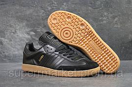 Кроссовки Adidas Samba черные, код6068, фото 3
