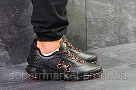 Кроссовки Under Armour черные с оранжевым, код6078, фото 2