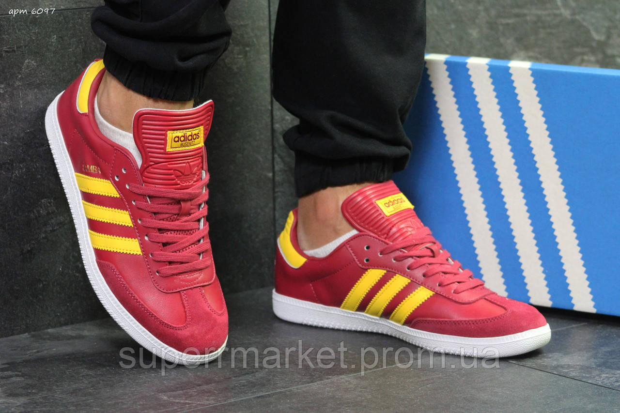 Кроссовки Adidas красные, код6097