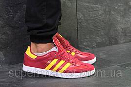 Кроссовки Adidas красные, код6097, фото 3