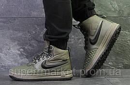 Кроссовки Nike Lunar Force 1 Duckboot зеленые, код6106, фото 2