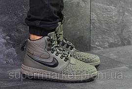 Кроссовки Nike Lunar Force 1 Duckboot зеленые, код6106, фото 3