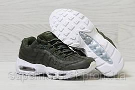 Кроссовки в стиле Nike темно-зеленые, р-38, фото 3