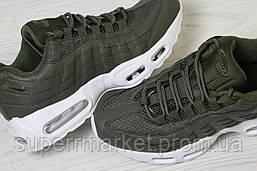 Кроссовки в стиле Nike темно-зеленые, р-38, фото 2