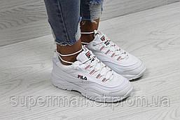 Кроссовки в стиле Fila белые, р-36, фото 2