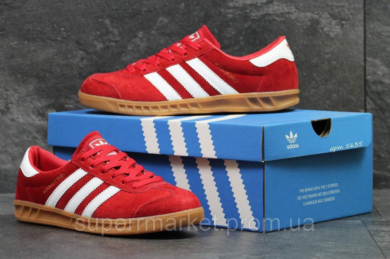 Кроссовки Adidas красные. Код 5635