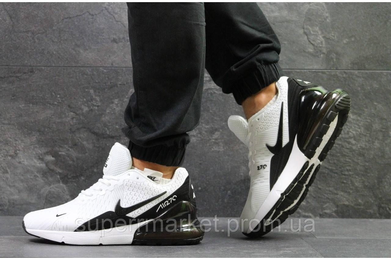 Кроссовки Nike Air Max 270 белые. Код 5743