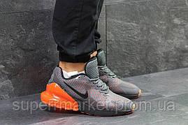 Кроссовки Nike Air Max 270 серые. Код 5744, фото 3