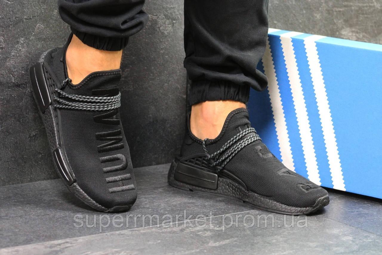 Кроссовки Adidas NMD Human Race черные. Код 5752