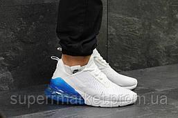 Кроссовки Nike Air Max 270 белые с синим, код5756, фото 2
