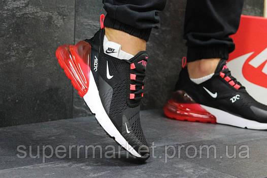 Кроссовки Nike Air Max 270 черные с красным, код5757, фото 2
