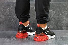 Кроссовки Nike Air Max 270 черные с красным, код5757, фото 3