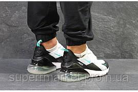Кроссовки Nike Air Max 270 белые с черным. Код 5759, фото 2