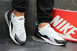 Кроссовки Nike Air Max 270 белые с черным. Код 5759, фото 3