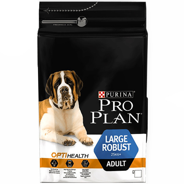 Сухой корм для собак Pro Plan (Про План)  Large Adult Robust 14 кг с курицей для взрослых собак крупных пород