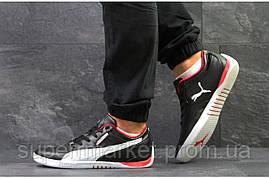 Кроссовки Puma черные с белым. Код 5777, фото 2