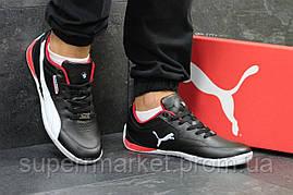 Кроссовки Puma черные с белым. Код 5777, фото 3