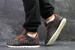 Кроссовки Reebok коричневые, код5797, фото 3