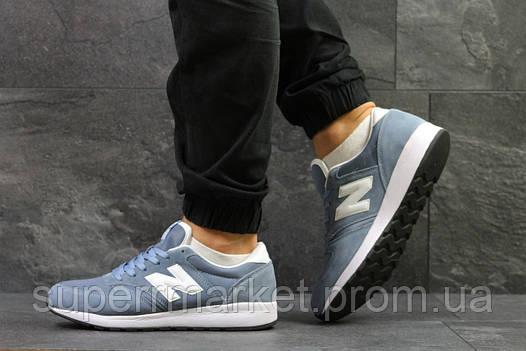 Кроссовки New Balance голубые, код5810, фото 2