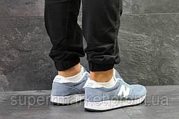 Кроссовки New Balance голубые, код5810, фото 3