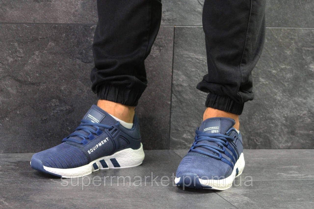 Кроссовки Adidas Equipment синие. Код 5814